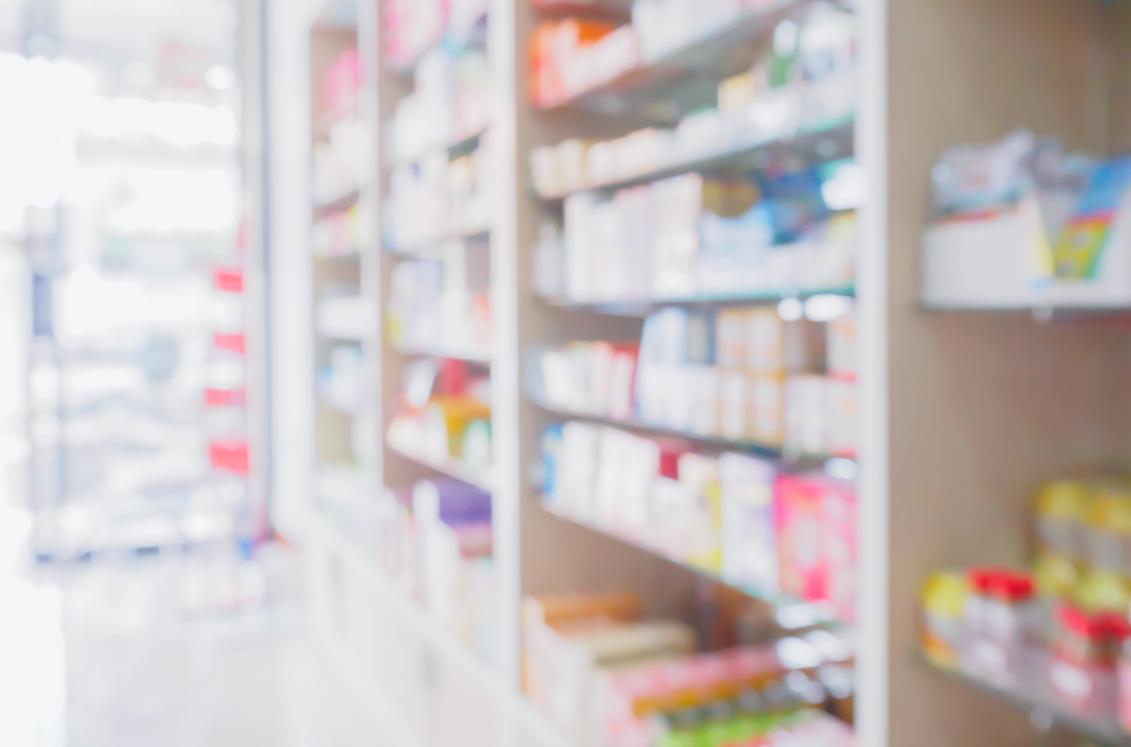 Pharmacy aisle