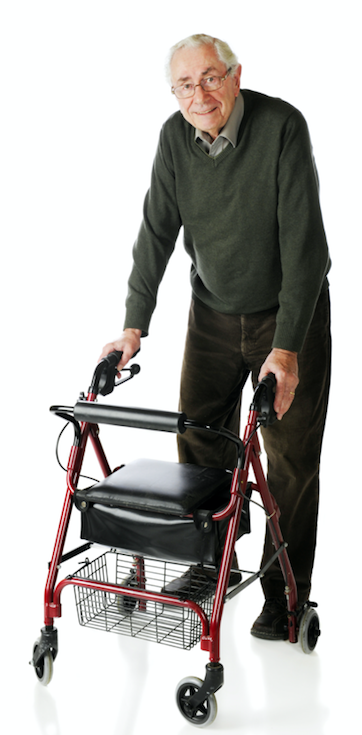 Man with walker